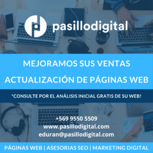 Pasillo Digital SEO | SEM | Páginas Web | APIs